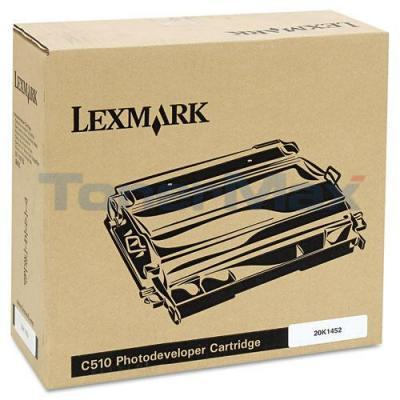 LEXMARK C510 GOV PHOTODEVELOPER